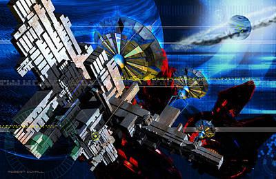 Robert Duvall Digital Art - The Floating City Of C'cona by Robert Duvall