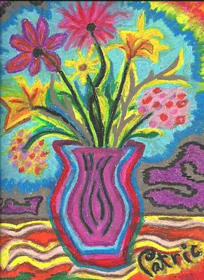 Patrick Painting - The Flowers Of Summer by Patrick Edwards