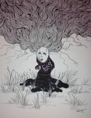 The Follower Art Print by Ronald Mcduff