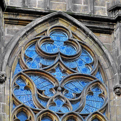 Gods Photograph - The Folly Of Windows In Prague by Christine Till