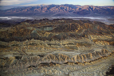The Foothills Of Amargosa Canyon Art Print by Michael Melford