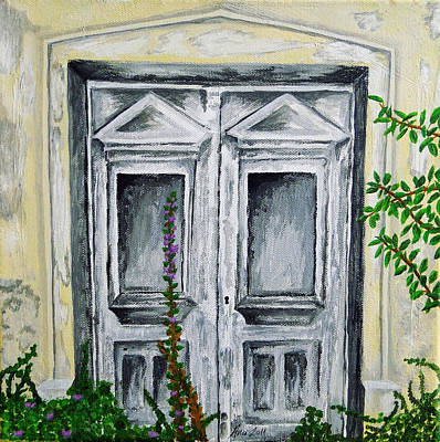 Painting - The Forgotten Door by Ana Leko Nikolic