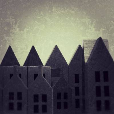 The Forgotten Town - 35 Print by Mirko Lamonaca
