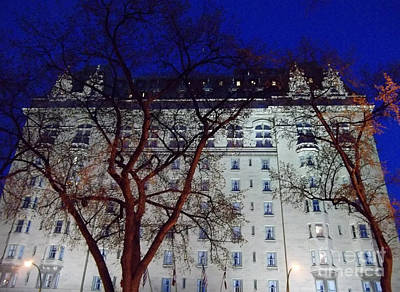 Photograph - The Fort Garry Hotel by Mary Mikawoz