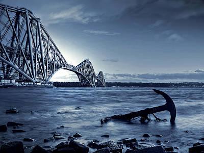 The Forth Rail Bridge Scotland Art Print by Amanda Finan