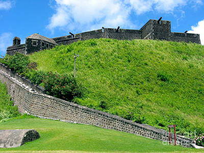 Photograph - The Fortress At St. Kitts by Phyllis Kaltenbach