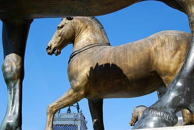 Digital Art - The Four Horses Of St Mark's  by Eva Kaufman