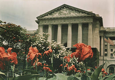 Canna Photograph - The Frieze Is Titled Columbia. It by Charles Martin