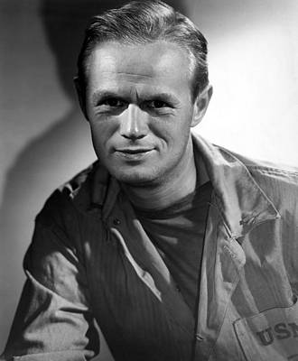 1951 Movies Photograph - The Frogmen, Richard Widmark, 1951 by Everett