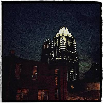 Austin Photograph - The Frost Bank Tower by Natasha Marco