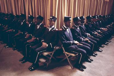 Rights Of Man Photograph - The Fruit Of Islam Body Guards by Everett