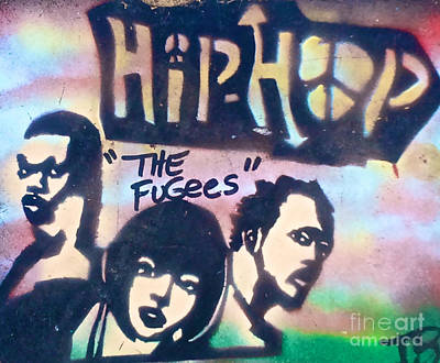 Free Speech Painting - The Fugees by Tony B Conscious