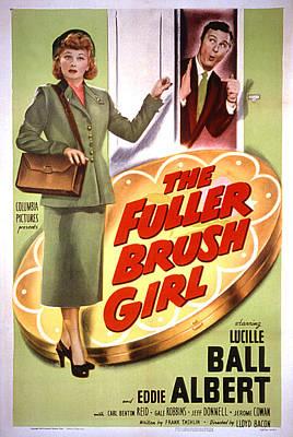 The Fuller Brush Girl, Lucille Ball Print by Everett