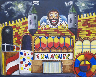 The Funhouse Castle Original by Patricia Arroyo