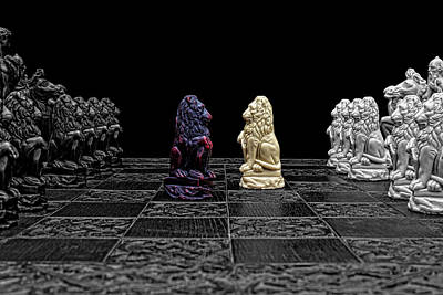 The Game Begins Art Print by Doug Long