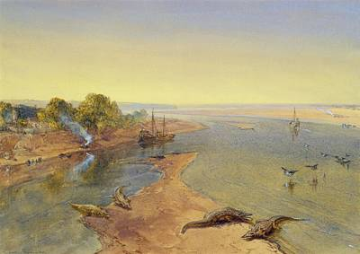 The Ganges Art Print by William Crimea Simpson