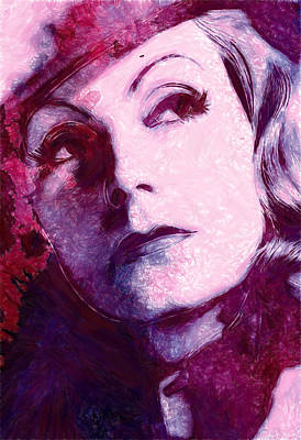 The Garbo Pastel Art Print