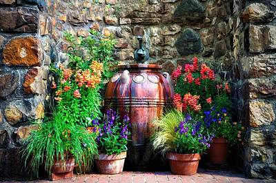 Longwood Gardens Photograph - The Garden Cistern by Bill Cannon