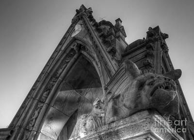 Photograph - The Gargoyles by Lee Dos Santos