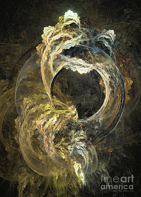 Digital Art - The Gate Of Depth by Sipo Liimatainen
