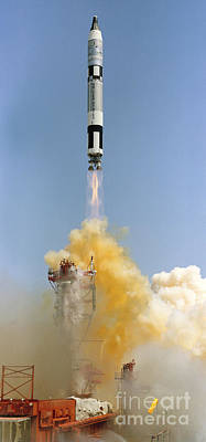 The Gemini-titan 4 Spaceflight Launches Art Print