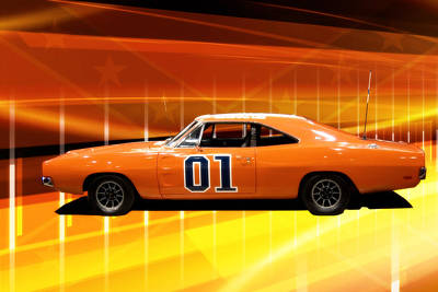 The General Lee Art Print
