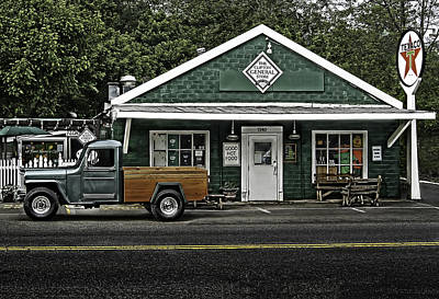 Photograph - The General Store by Don Lovett