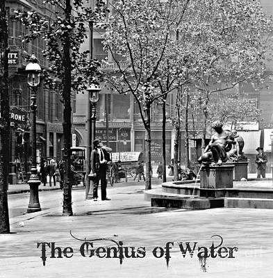 The Genius Of Water 1906 Art Print by Padre Art