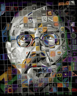 Mixed Media - The Genius by Russell Pierce