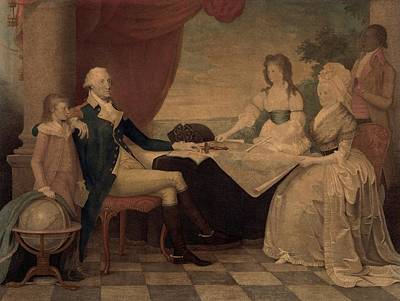 Custis Photograph - The George Washington Family by Everett