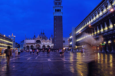Jeka World Photograph - The Ghost Of San Marco by Jeff Rose