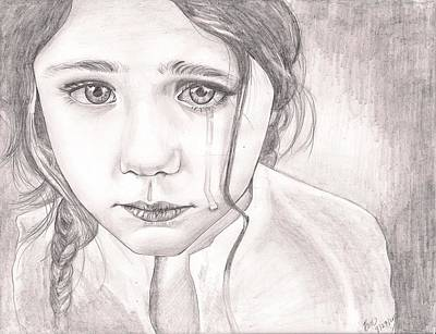 The Girl Art Print by Beverly Marshall