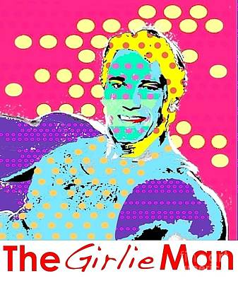 The Girlie Man Art Print by Ricky Sencion