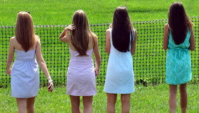 Photograph - The Girls by Deborah  Crew-Johnson