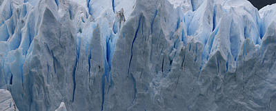 Art Print featuring the photograph The Glacier Up Close by Andrei Fried