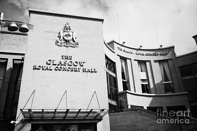 The Glasgow Royal Concert Hall Glasgow Scotland Uk Art Print by Joe Fox