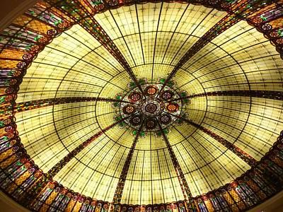 The Glass Ceiling Original by Florene Welebny