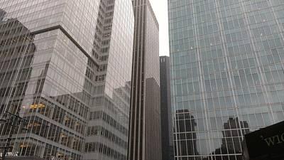Photograph - The Glass City by Paul SEQUENCE Ferguson             sequence dot net