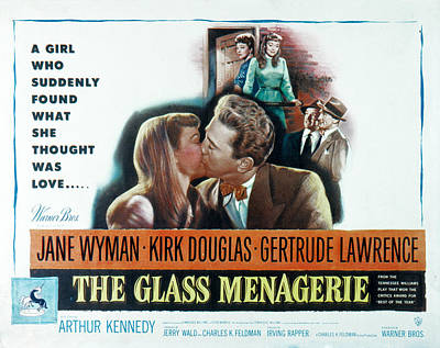 The Glass Menagerie, Jane Wyman, Kirk Art Print