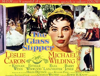 The Glass Slipper, Leslie Caron Art Print by Everett