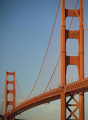 The Golden Gate Bridge At Dawn Art Print by Axiom Photographic