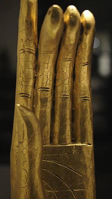 Photograph - The Golden Hand by Marcus Hammerschmitt