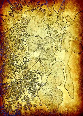 The Golden Pedals Art Print by Taylor Steffen SCOTT