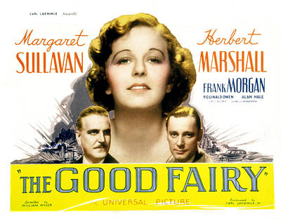 Films By William Wyler Photograph - The Good Fairy, Frank Morgan, Margaret by Everett