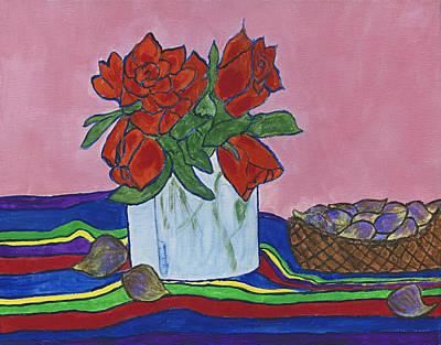 The Good Figs Art Print by Maureen Ritzel