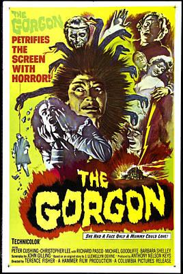 Horror Fantasy Movies Photograph - The Gorgon, Prudence Hyman by Everett