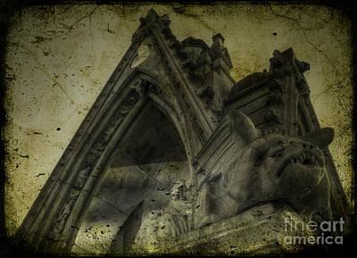 Photograph - The Gothic Gargoyles by Lee Dos Santos