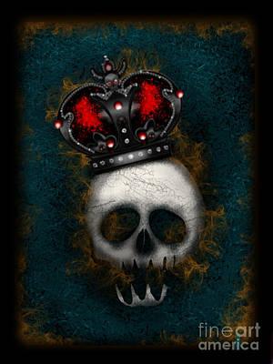 Digital Art - The Gothic King by J Kinion