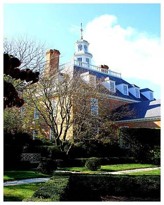The Governors Palace Art Print by Frank Wickham