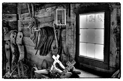 Photograph - The Granary At Fort Nisqually II by David Patterson